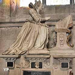 Collégiale Notre-Dame - tombeau de Marie Maignard (XVIIe s.)