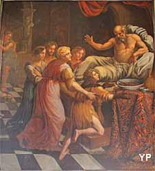 église Notre-Dame - la bénédiction de Jacob