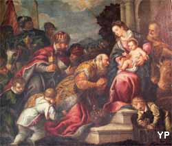église Notre-Dame - l'adoration des mages (XVIe s.)