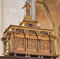 Pontoise, la cathédrale Saint-Macloud - reliques de saint Mellon