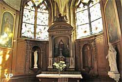 Pontoise, la cathédrale Saint-Macloud - chapelle du Sacré-Coeur
