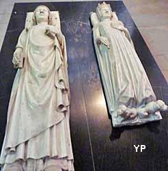 basilique cathédrale Saint-Denis - Charles V et Jeanne de Bourbon