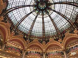 Galeries Lafayette Haussmann - coupole