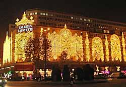 Galeries Lafayette Haussmann - illuminations de Noël