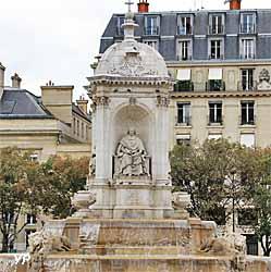 Eglise Saint Sulpice - fontaine Saint Sulpice