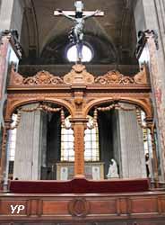 Eglise Saint Sulpice - banc d'oeuvre