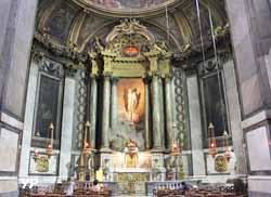 Eglise Saint Sulpice - chapelle de la Vierge