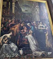Eglise Saint-Nicolas-des-Champs - Circoncision (Louis Finsonius, 1615)