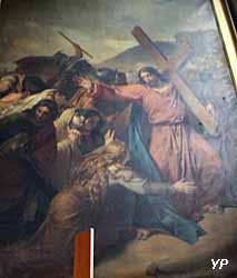 Eglise Saint-Nicolas-des-Champs - Jésus portant sa croix