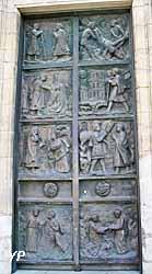 Église Saint-Pierre de Montmartre - porte saint Pierre (porte centrale)