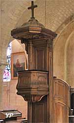 Église Saint-Pierre de Montmartre - chaire