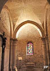 Église Saint-Pierre de Montmartre - chapelle absidiale des Fonts baptismaux