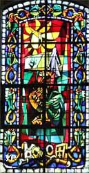 Église Saint-Pierre de Montmartre - Le Reniement (Max Ingrand, 1953)