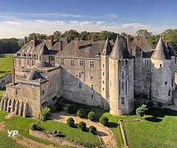Château de Meung-sur-Loire - façade XIIIe s. (Château de Meung)