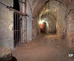 Château de Meung-sur-Loire - souterrain