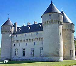 Château de Rouville - façade Nord