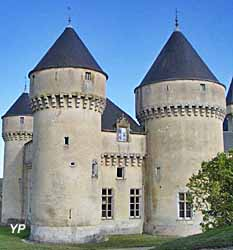 Château de Rouville - façade Ouest