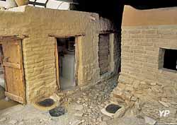 Vitrine archéologique de l'Ile
