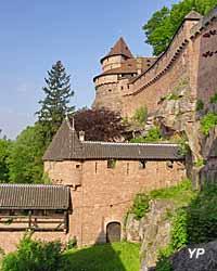 Château du Haut-Koenigsbourg - grand bastion