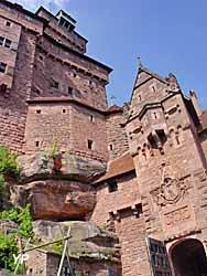 Château du Haut-Koenigsbourg - portail d'honneur