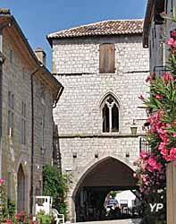 Bastide de Monflanquin - maison du Prince Noir