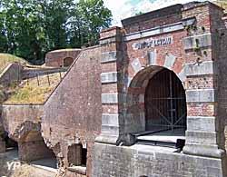 Fort de Leveau - entrée (Fort de Leveau)