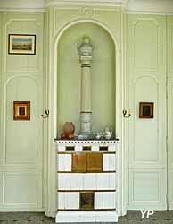 Château du Taillis - poêle de la salle à manger