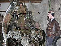 Musée Août 1944 l'Enfer sur la Seine - crash d'avion