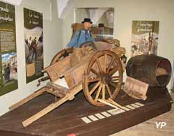 Château de Sonnaz - musée du Chablais - exposition « La frontière, histoires de contrebande »