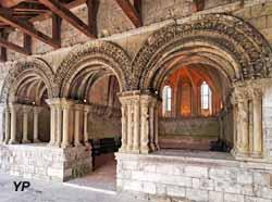 Abbaye Saint-Georges de Boscherville - salle capitulaire