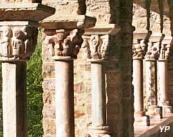 Abbaye Saint-Martin-Du-Canigou - cloître