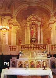 Eglise saint christophe caudrot - Office de tourisme de l entre deux mers ...