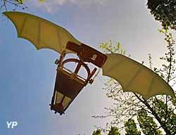 Château du Clos Lucé - Parc Leonardo Da Vinci - la machin volante