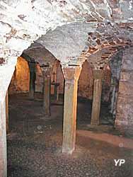 Crypte pré-romane Xe s