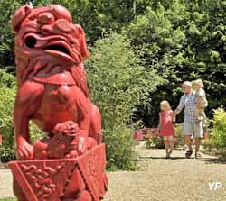 Pagode de Chanteloup - Le petit jardin chinois