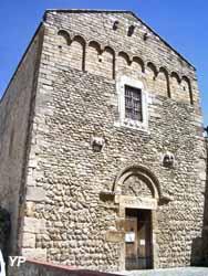 Maison de l'Art Roman - Façade de l'abbatiale