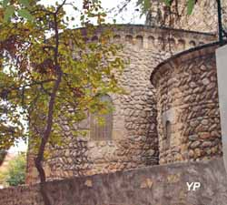 Maison de l'Art Roman - Chevet de l'église romane