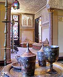 Château de Monte-Cristo - salon mauresque