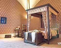 château de Tournon-sur-Rhône - chambre d'Hélène