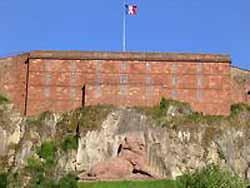 château et lion de Belfort