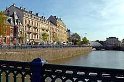 Belfort, quai Vauban (doc. Photothèque Maison du Tourisme de Belfort et du Territoire de Belfort)