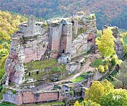 Château Fort de Fleckenstein (K. Gro&bgr;)