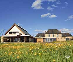 Maison du Parc Naturel Régional des Marais du Cotentin et du Bessin (G. Hédouin)