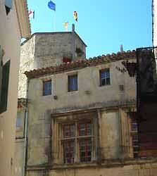 maison style renaissance à Tulette (doc. OT Tulette)