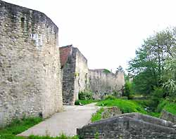 remparts de Rodemack
