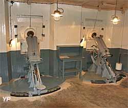 Fort A5 Bois-du-Four - mortiers de 81 mm