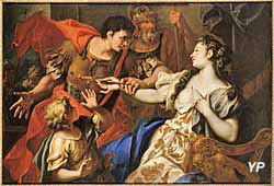 Le Suicide de Lucrèce (attribué à Sebastiano Ricci - 1659-1734)