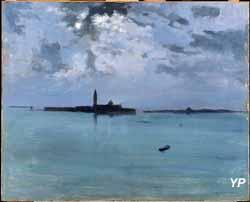 La Nuit sur la lagune (Jules Bastien Lepage - 1848-1884)