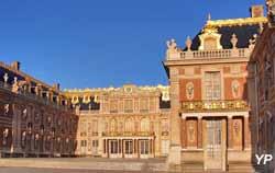 Château de Versailles, la Cour de Marbre