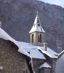 la chapelle du Lienz, près de Barèges (doc. OT Barèges)